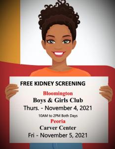 Free Kidney Screening